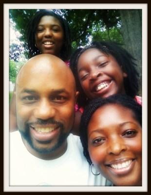Black Breastfeeding Family