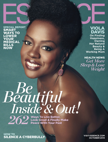 Viola Davis Natural Hair In Essence
