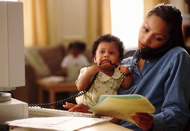 African American Working Mom