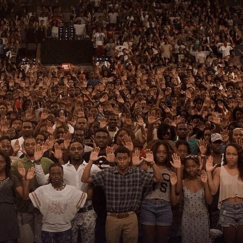black teen boys react to ferguson