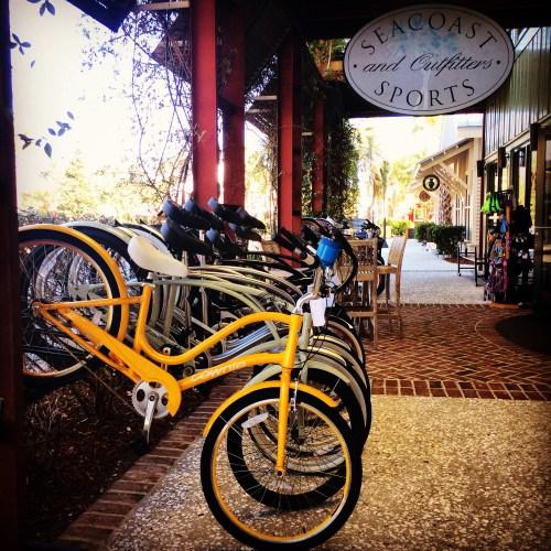 Bikes in Kiawah Island