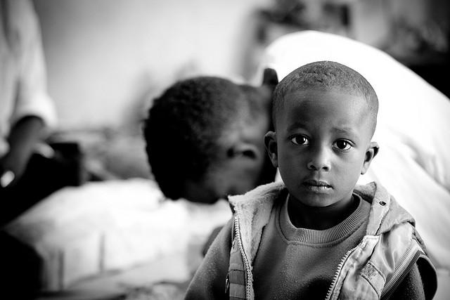 Fatherless child