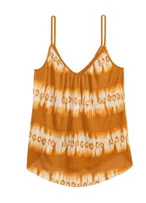 h&m patterned camisole
