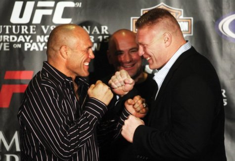 Randy Couture Vs Brock Lesnar