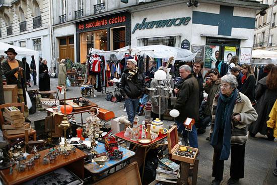 파리의 시장