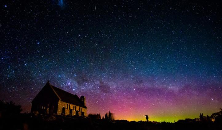 뉴질랜드 테카포 호수 별관측 축제 참가