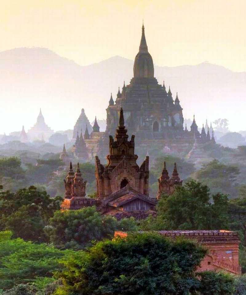 미얀마 바간유적지 여행