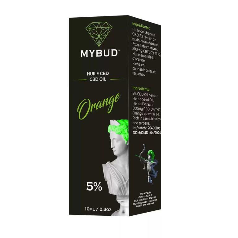 huile cbd orange 5% boîte livraison rapide, pas cher