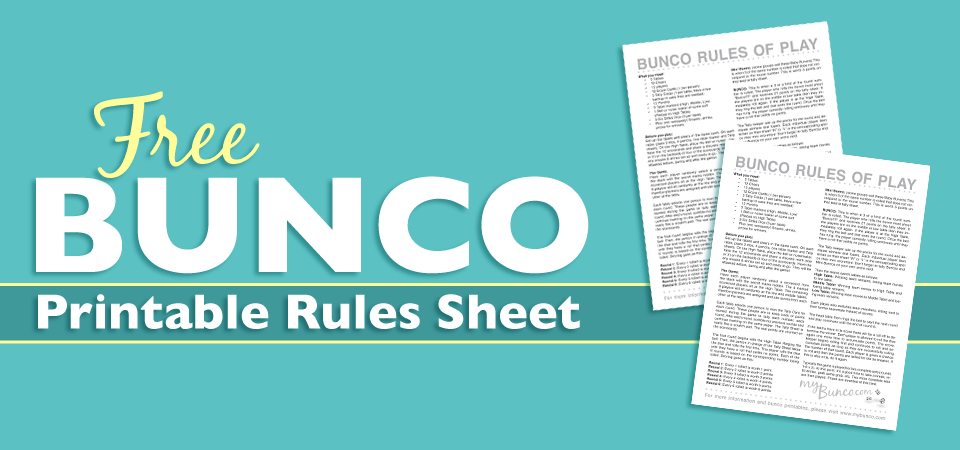 picture about Printable Bunco Score Cards known as Freebies Archives My Bunco
