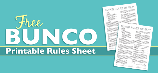 Freebies Archives My Bunco