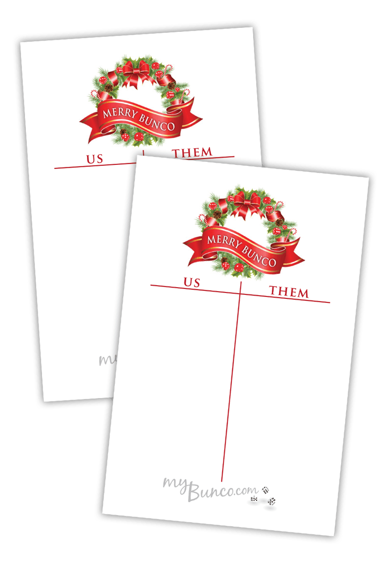 It's just an image of Printable Bunco Cards pertaining to pageant