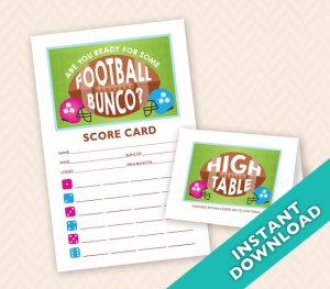 November Bunco Football