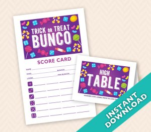 October Bunco