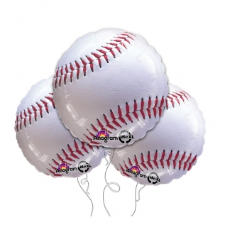 Baseball 18″ Mylar Balloon