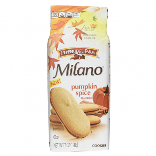 Milano Pumpkin Spice Cookies