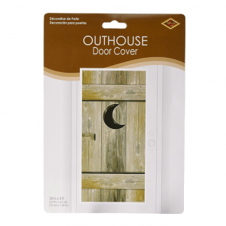 Outhouse Door Cover – White Trash Bunco Bash