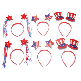 Patriotic Head Boppers Headband