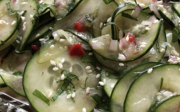 Thai-Inspired Cool Cucumber Mint Salad