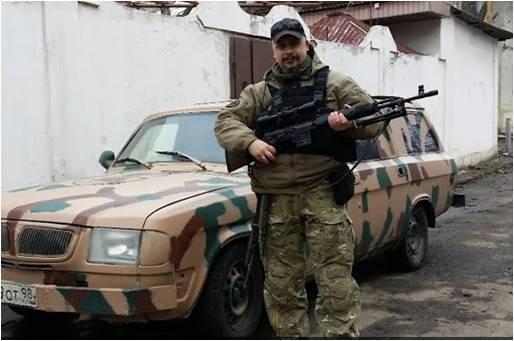 Владимир Морозов, идеолог и казначей ЧВК «Е.Н.О.Т.»