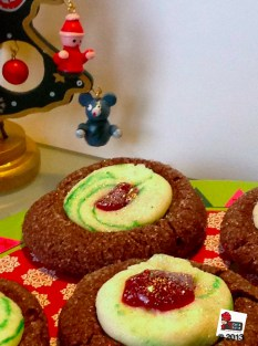 Chocolate Santa'sThumbprints