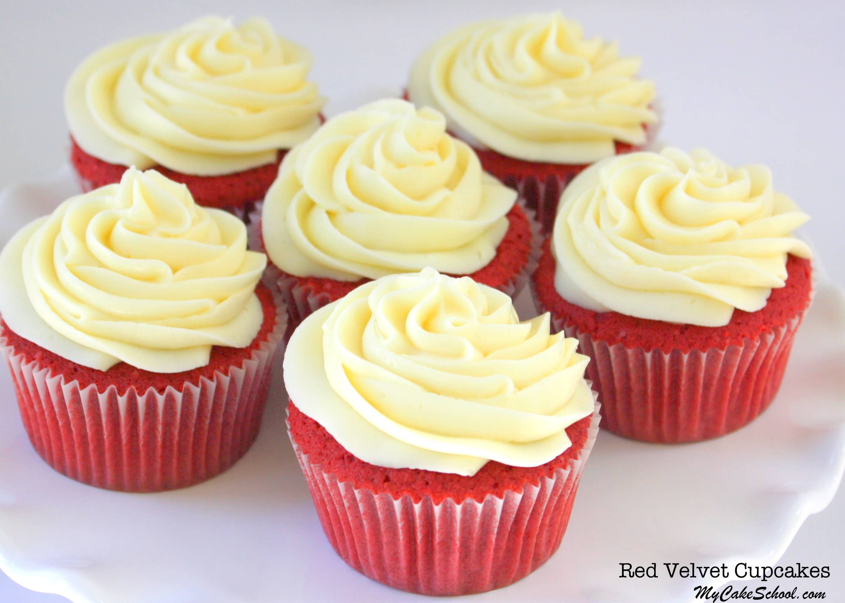 Red Velvet Cupcake (and Cake) Recipe From Scratch