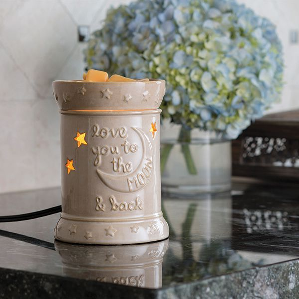 LOVE YOU TO THE MOON WAX WARMER