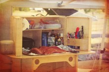 Cooking with My Camp Kitchen Products