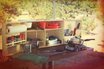 My Camp Kitchen Cooking Gear