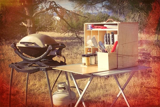 My Camp Kitchen Mini Chef in Field