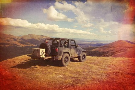 Jeeping in the Colorado Mountains with My Camp Kitchen