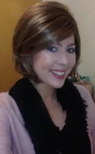 wig and makeup