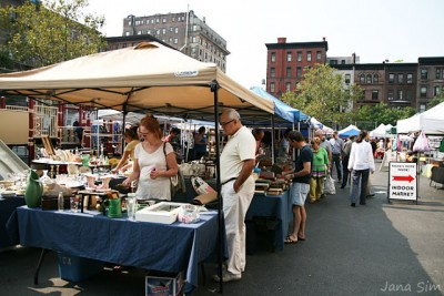 Green flea market manhattan