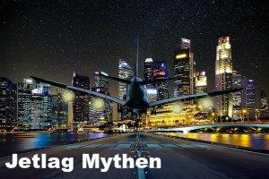 Jetlag Mythen