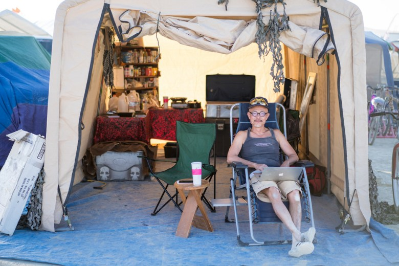 Burning Man Camping