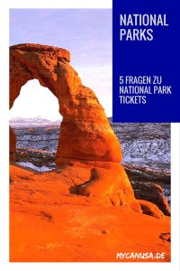 5 Fragen zu Nationalparks Tickets in den USA