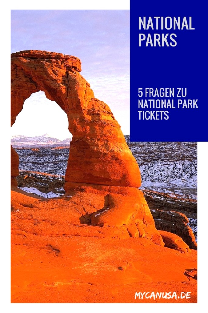 5 Fragen zu Nationalparks Tickets in den USA