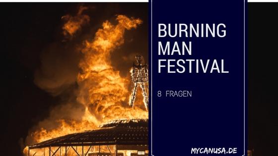 8 Fragen an das Burning Man Festival, Nevada