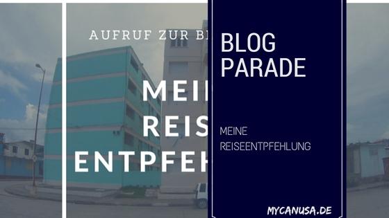 Blogparade - ReiseEntpfehlung