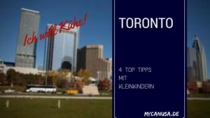 Toronto mit Kleinkindern