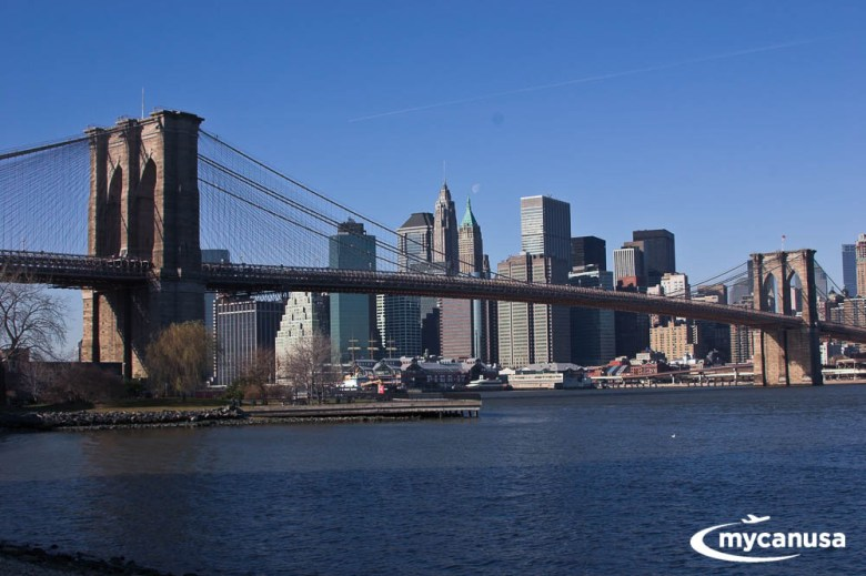 Amerika Krankheit Manhattan Brooklyn Bridge Park