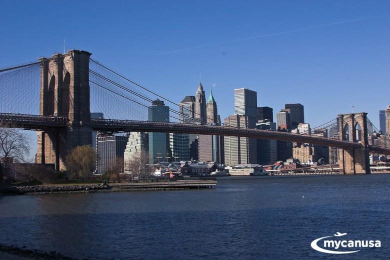 Amerika Krankheit Manhattan Brooklyn Bridge Park