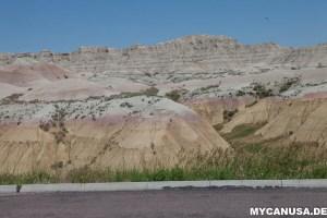 Badlands Nationalpark Colors