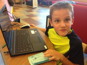 Minecraft at Tye Preston Mem. Library @ Tye Preston Memorial Library | Canyon Lake | Texas | United States