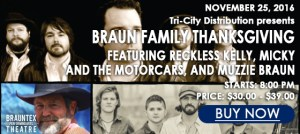 Braun Family Thanksgiving @ Brauntex Performing Arts Theatre | New Braunfels | Texas | United States