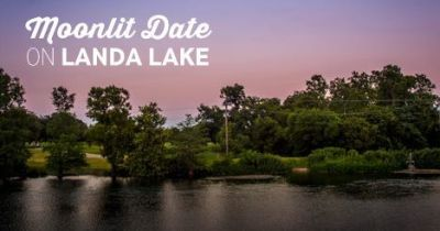 Moonlit Date on Landa Lake @ Landa Park Boathouse | New Braunfels | Texas | United States