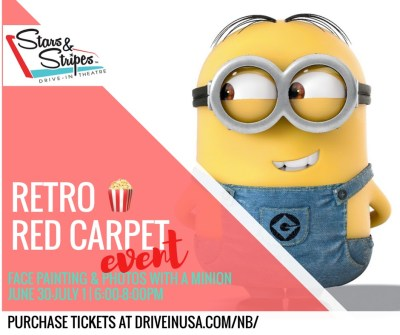 Meet a Despicable Minion @ Stars & Stripes Drive-In Theatre | New Braunfels | Texas | United States