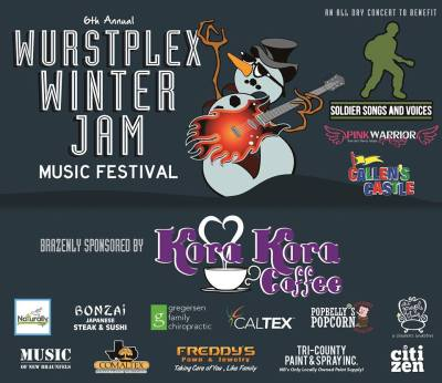 Wurstplex Winter Jam @ Freheit Coountry Store | New Braunfels | Texas | United States