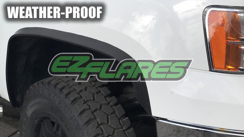 Great EZ Flares XL Universal Flexible Rubber Fender Flares
