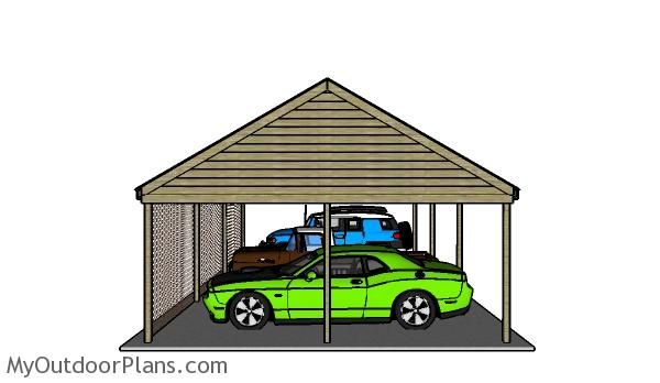 How-to-build-a-3-car-carport