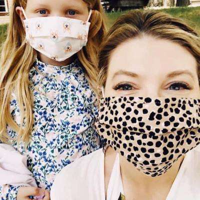 Need a cute, comfortable face mask?